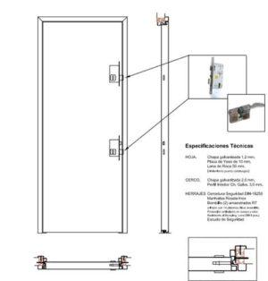 CYPSA amplía su catálogo con puertas anti ocupas de seguridad
