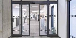 Puertas cortafuegos batientes de vidrio