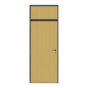 Puerta cortafuegos panelada con fijo superior