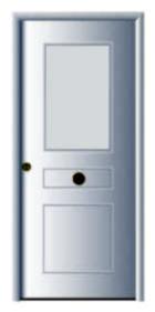 Puertas de seguridad residenciales para viviendas