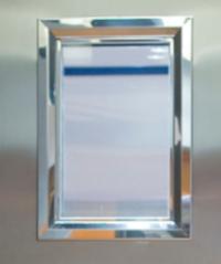 Mirilla rectangular cortafuegos
