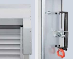 Cierre automático de la puerta enrollable