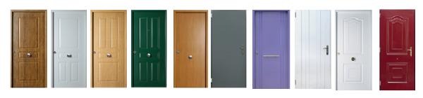 Puertas blindadas de entrada a vivienda