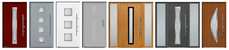 Puertas de entrada a vivienda acorazadas modelos