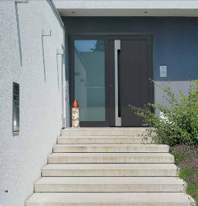 Puertas de entrada a vivienda metálicas