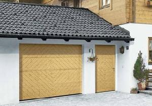 Puertas peatonales de garaje