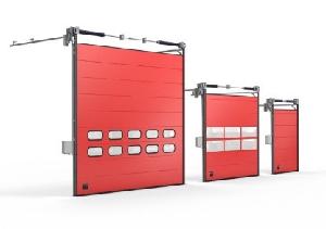 Puertas rápidas seccionales industriales