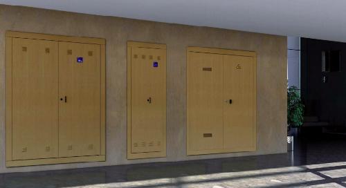 Registros y armarios para instalaciones de agua