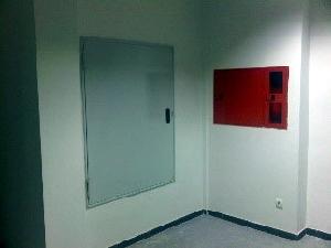Registros y armarios para instalaciones cortafuegos